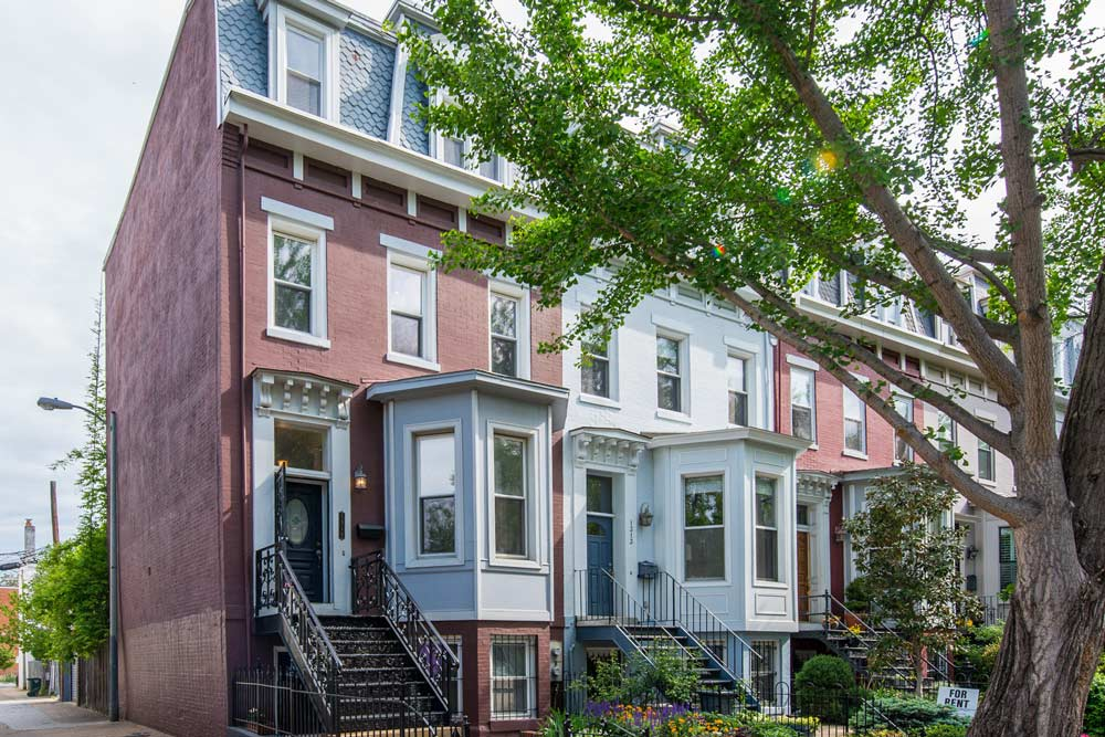 Logan Circle 1315 Riggs St NW Sold for: $1,460,000